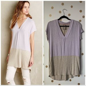 Anthropologie Dolan Colordrop Tunic